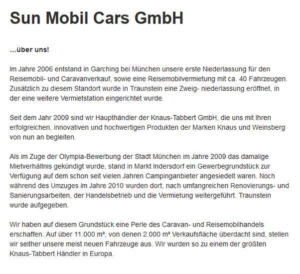 Reisemobil-Caravanverkauf  in 90762 Fürth