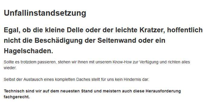 Unfallinstandsetzung in 67657 Kaiserslautern