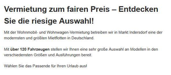 Wohnmobil-Vermietung  aus  Trier
